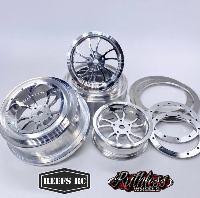 Reefs RC KURL Aluminum Beadlock Wheels