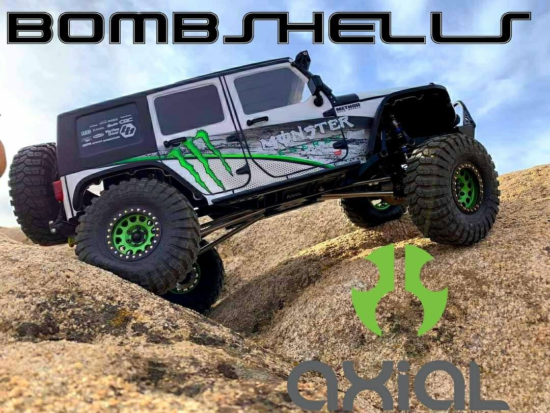 Custom Painted Monster Axial Jeep SCX10 III