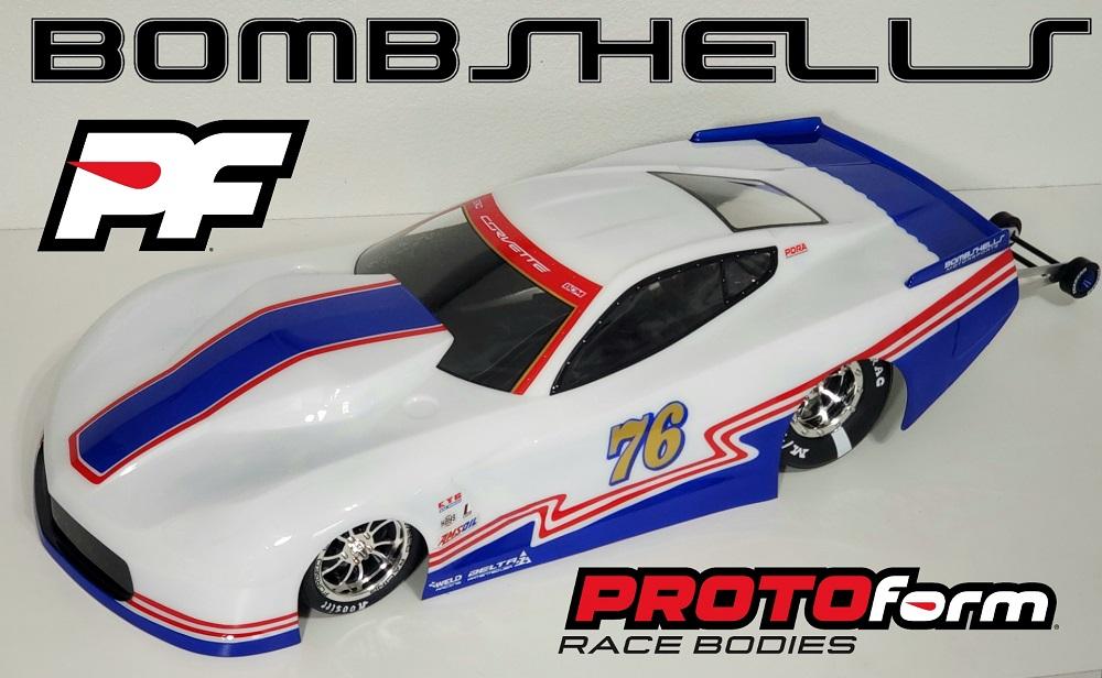 Custom painted No Prep Corvette