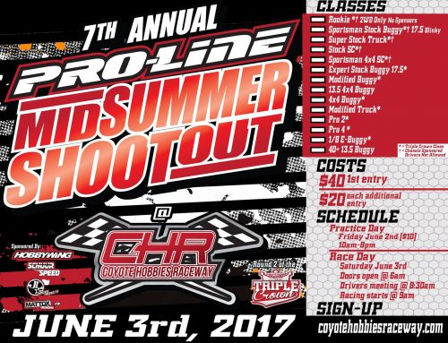 7th Annual Pro-Line Mid Summer Shootout – June 3rd, 2017