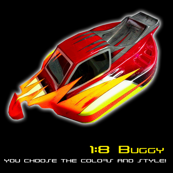 Buggy 1:8 Scale